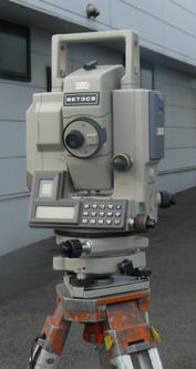 光波測距儀-トータルステーション